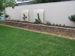 fences and retaining walls authentic stone