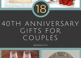 40th anniversary ideas 12 gift for 40th wedding anniversary 40th anniversary gift print