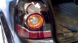 discovery 2 rear light conversion how to upgrade freelander 2 lr2 to new type led rear lights youtube
