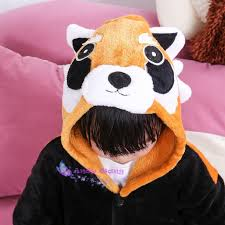 Girls Raccoon Halloween Costume Onesie Jumpsuit Picture Detailed Picture Raccoon