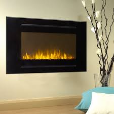 refurbished touchstone 80006 forte recessed electric fireplace