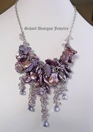boutique designer jewellery purple coral petal pearl scorolite mystic blue quartz