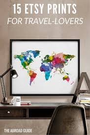 themed posters 15 prints posters on etsy that every travel lover should