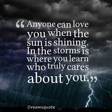 touching quotes and sayings where you learn who truly cares