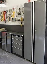 husky garage cabinets store father s day garage makeover garage organization ideas