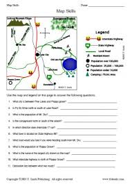 globe and maps worksheet 2nd grade map skills worksheets free worksheets library