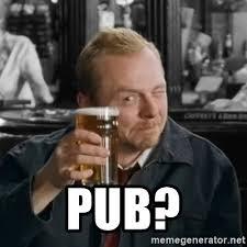 Shaun Of The Dead Meme - pub shaun of the dead meme generator