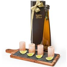 birthday tequila don julio 1942 anejo tequila with shot glasses