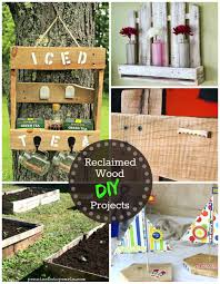 reclaimed wood diy projects