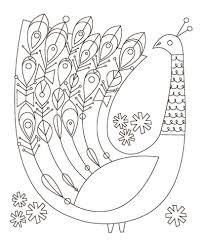 mexican folk art coloring pages chuckbutt com