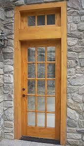 15 Lite Exterior Door 15 Lite Knotty Alder Entry Door With Transom Rustic Entry