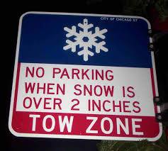 Permit Parking Chicago Map by The Lowdown On Snow Routes Theexpiredmeter Com