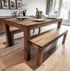 dining table bench set bench decoration