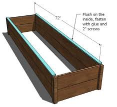How To Build A Raised Garden Bed Cheap Ana White 10 Cedar Raised Garden Beds Diy Projects