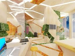 Interior Design Notebook by Interior Exquisite Granite Tiles Interior With Smart Television