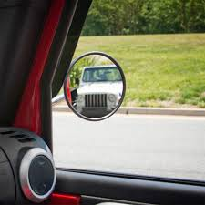 jeep wrangler blind spot mirror blind door lens 2pcs lot car rearview mirror small mirror