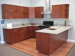 silver rectangle modern steel kitchen cabinet kits sale laminated