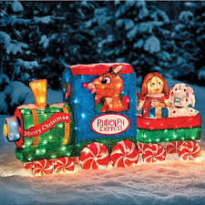 Animated Outdoor Christmas Decorations by Most Outdoor Christmas Decorations Train Cute Shop Holiday