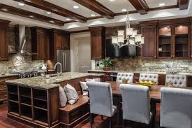 Custom Kitchen Islands With Seating by Cool Banquette Seating Design 135 Booth Seating Design Ideas