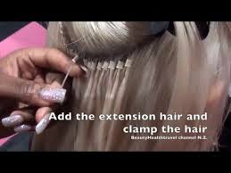 individual extensions how to apply and remove hair extensions individual