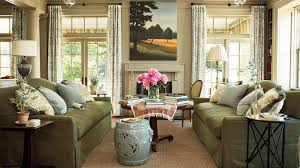 Two Different Colored Curtains 106 Living Room Decorating Ideas Southern Living