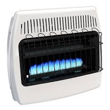 propane heater with fan shop dyna glo 30000 btu wall or floor mount liquid propane vent free