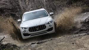 maserati jeep 2017 maserati u0027s first suv levante snarls its way through the italian