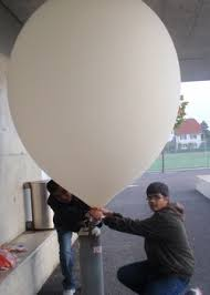 balloon grams equipment used weather balloon project