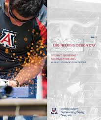 ua engineering design day book 2017 by university of arizona