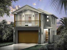 Duplex House Plans For Narrow Lots Duplex House Plans Three Story Narrow Duplex Design W Popout
