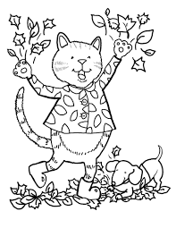 fall coloring sheets for kindergarten and pages shimosoku biz