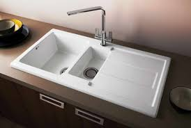 ceramic bathroom sinks pros and cons stylishceramic kitchen sinks the new way home decor