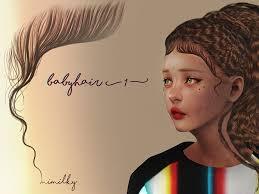 baby hair daerilia s mimilky babyhair n1