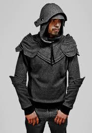 hoodie designer grey armored hoodie by chadwick j dillon fancy tshirts