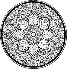 Detailed Coloring Pages Coloring Pages Mandala Lotus Flower Mandala Coloring Pages For by Detailed Coloring Pages