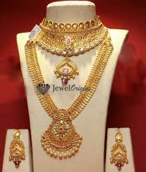 gold haram sets jewelorigins indian designer gold and diamond jewellery indian