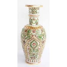 home decor u0026 handicrafts marble vase online shopping india