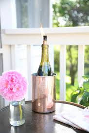 How To Decorate A Wine Bottle Diy Wine Bottle Tiki Torch