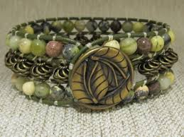 beaded leather cuff bracelet images 165 best jewelry made in buffalo ny images bison jpg