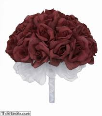 how much does a dozen roses cost burgundy silk weding bouquet 3 dozen silk roses