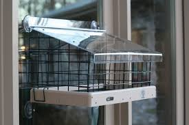 clear plastic window bird feeder choice recycled 22