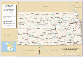 Arkansas Map Us Reference Map Of Kansas Usa Nations Online Project