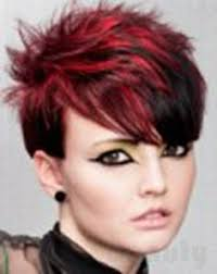 photos of short hair for someone in their sixes someone was getting their hair dyed similar to this at lucy pop