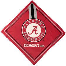 Alabama Crimson Tide Home Decor by Alabama Crimson Tide Full Color Handkerchief Bandana