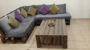 L Shaped Coffee Table Diy Pallet L Shaped Sofa Coffee Table For Living Room Pallets