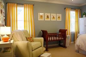 Yellow Stripe Curtains Kristen F Davis Designs Client Nursery Work
