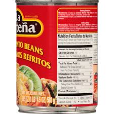 la costena refried pinto beans 20 5 oz walmart com