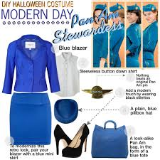 Halloween Flight Attendant Costume Halloween Costume Pan Stewardess Created