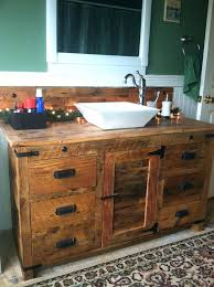 bathroom vessel sink ideas vanities shop allen roth cromlee bark vessel poplar bathroom