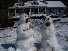 calvin and hobbes snowmen
